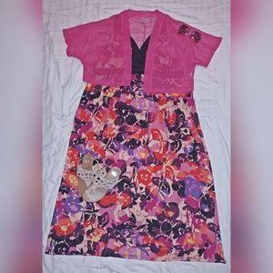 🌸🌸 Floral Maxi Dress